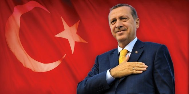 اردوغان/ المنتصف