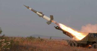 صاروخ بالستي/ المنتصف