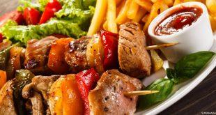 طعام صحي /المنتصف