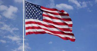 علم الولايات المتحدة / المنتصف