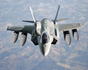 طائرة f35-المنتصف