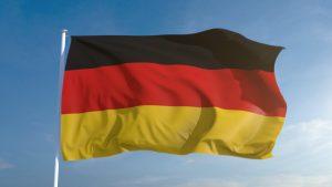 علم المانيا /المنتصف
