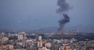 غزة قصف /صحيفة المنتصف