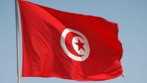 علم تونس / المنتصف