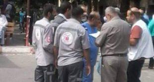 غزة المشفى الأوروبي /المنتصف