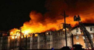 حريق ارامكو السعودية/المنتصف