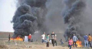 مسيرات العودة غزة/المنتصف
