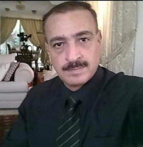 الاعلامي الاردني محمد خير البوريني /المنتصف