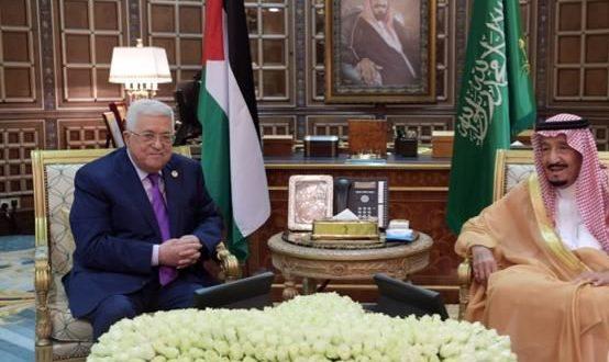 عباس وخادم الحرمين/المنتصف