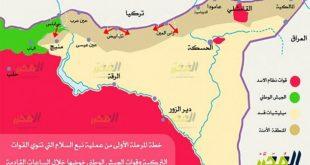 """شمال سوريا""""نبع السلام""""/المنتصف"""