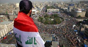 مظاهرات العراق /المنتصف