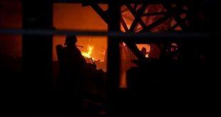 حريق منزل /المنتصف