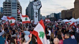 احتجاجات لبنان -المنتصف