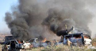 قصف امريكي العراق -المنتصف