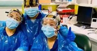 ممرضات لندن -المنتصف