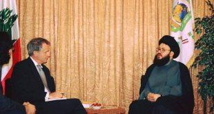 العلامة الحسيني و المفكر رودجار -المنتصف