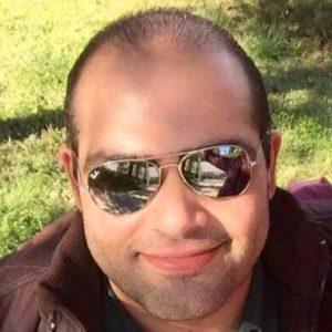 الصحفي تامر الضمور -المنتصف