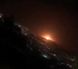 انفجار طهران -المنتصف