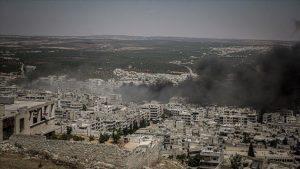 سوريا قصف - المنتصف