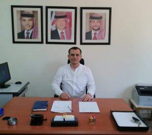 الصحفي ليث عكروش -المنتصف