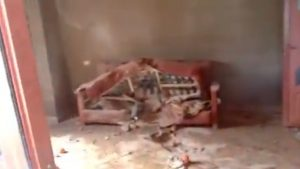 تضرر منزل لبنان -المنتصف