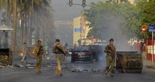 احتجاجات بيروت -المنتصف