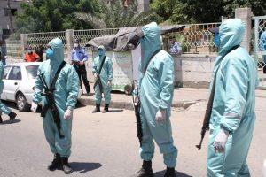 الشرطة بغزة-المنتصف