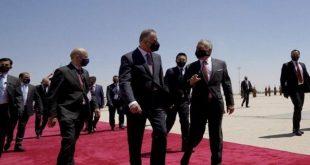 الملك عبدالله+الكاظمي -المنتصف