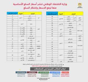 أسعار السلع بغزة-المنتصف