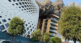 حريق بيروت -المنتصف