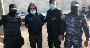 الأمن الداخلي غزة -المنتصف