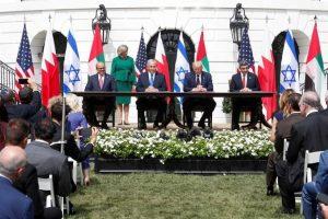 توقيع اتفاقيات السلام -المنتصف