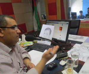 الصحفي محمد قنيطة-المنتصف