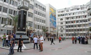 جامعة الأزهر غزة-المنتصف