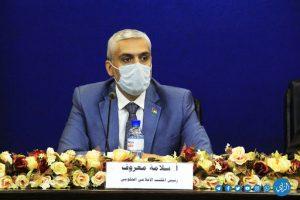 رئيس المكتب الإعلامي غزة سلامة معروف-المنتصف