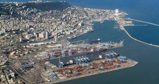 ميناء حيفا -المنتصف