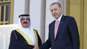 اردوغان وملك البحرين -المنتصف