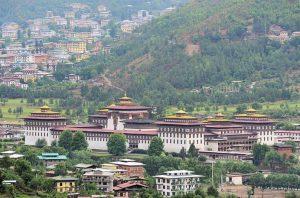 مملكة بوتان -المنتصف