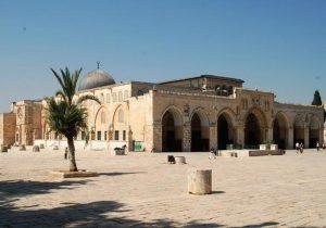 المسجد القبلي الأقصى -المنتصف