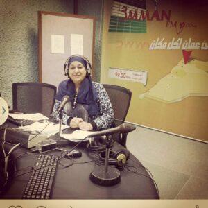 امل دهاج-الإذاعة الأردنية -المنتصف