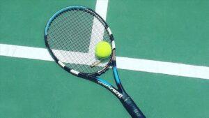 رياضة التنس -المنتصف