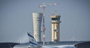 مطار بن غوريون -المنتصف