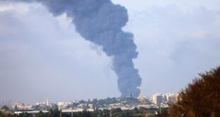 غزة قصف - المنتصف