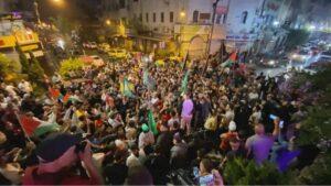 مسيرات النصر فلسطين -المنتصف