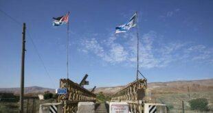 إسرائيل الأردن -المنتصف