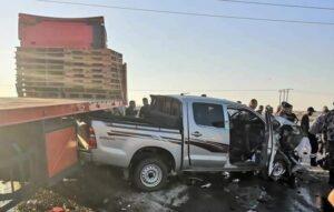 حادث سير الأردن - المنتصف
