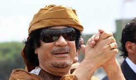 معمر القذافي -المنتصف