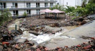 فيضانات المانيا -المنتصف
