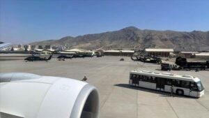 مطار كابول - المنتصف
