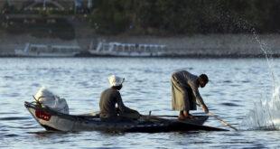 نهر النيل - المنتصف